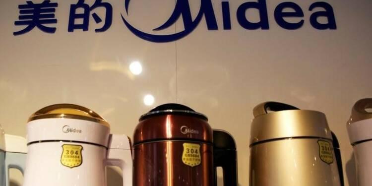 Le chinois Midea lance une offre sur l'allemand Kuka