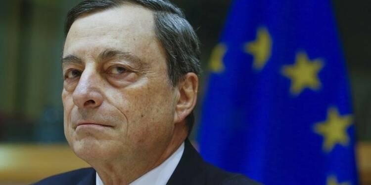 La BCE est prête à agir en mars, dit Draghi