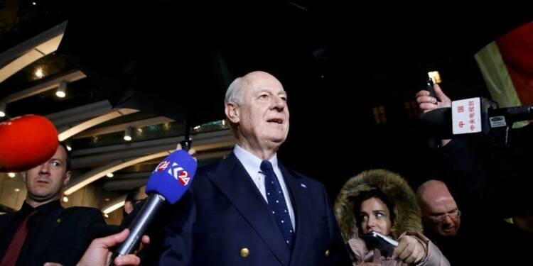 Les négociations de Genève sur le conflit syriens suspendues