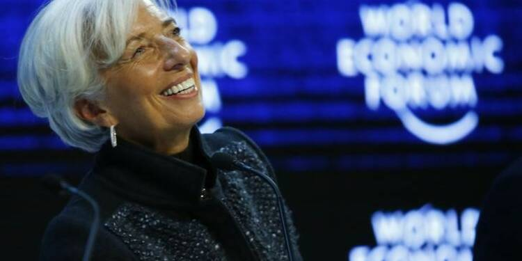 A Davos, Christine Lagarde a engrangé les soutiens