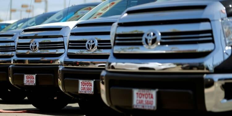 1,6 million de véhicules Toyota rappelés aux Etats-Unis