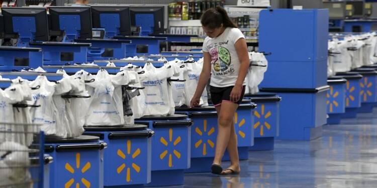 Wal-Mart publie un bénéfice trimestriel en baisse