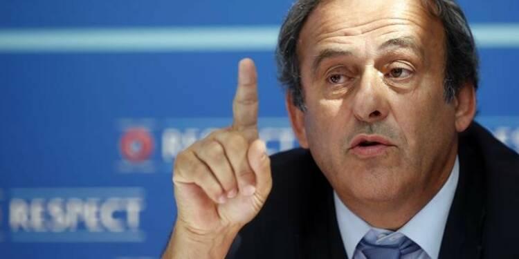 Michel Platini jette l'éponge pour la présidence de la FIFA