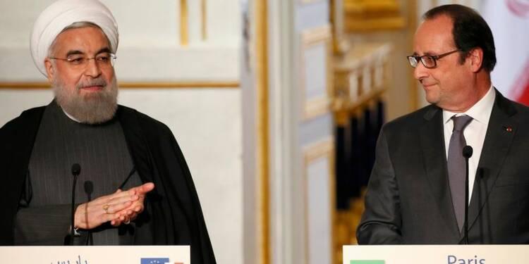 """Un """"nouveau chapitre"""" franco-iranien et une série d'accords"""