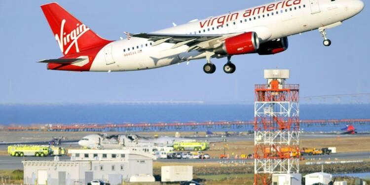Fusion entre les compagnies Alaska Air et Virgin America