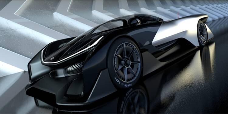 La FFZERO1, le bolide électrique qui défie Tesla