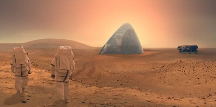 Viens sur Mars, j'habite dans un igloo