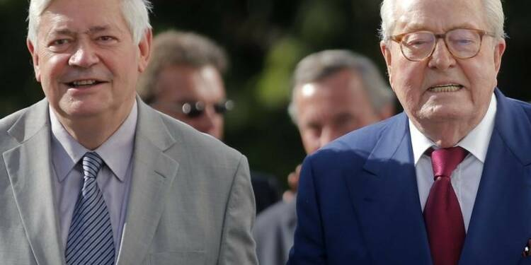 Marine Le Pen pardonne à Bruno Gollnisch