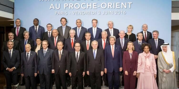 Paris pour un retour du dialogue direct au Proche-Orient fin 2016