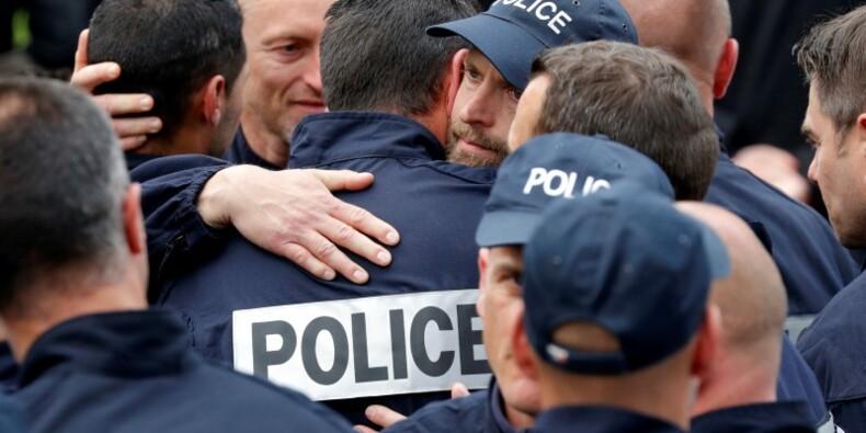 Information judiciaire après le meurtre des deux policiers