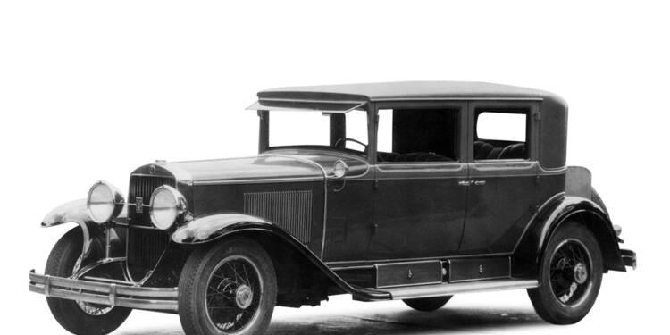 Cadillac Town Sedan, 1927 : Elle a transporté Roosevelt et Al Capone