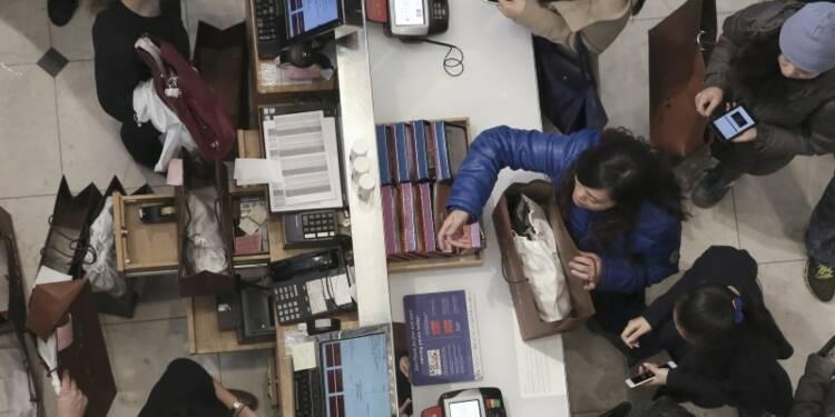 Forte hausse des ventes au détail en avril aux Etats-Unis