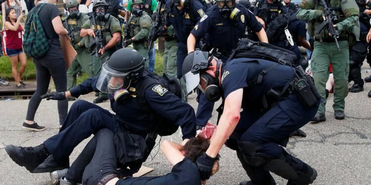Des dizaines de manifestants arrêtés en Louisiane