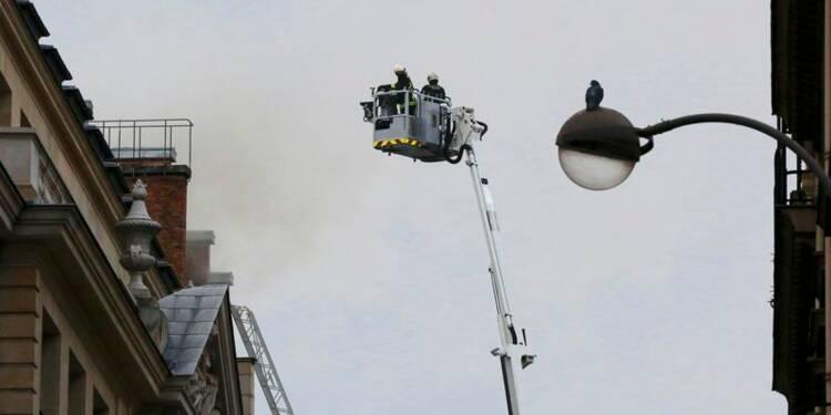 L'hôtel Ritz dévasté par un incendie avant sa réouverture