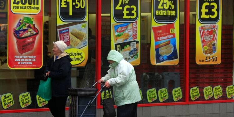 L'inflation du mois de mai stable à 0,3% en Grande-Bretagne