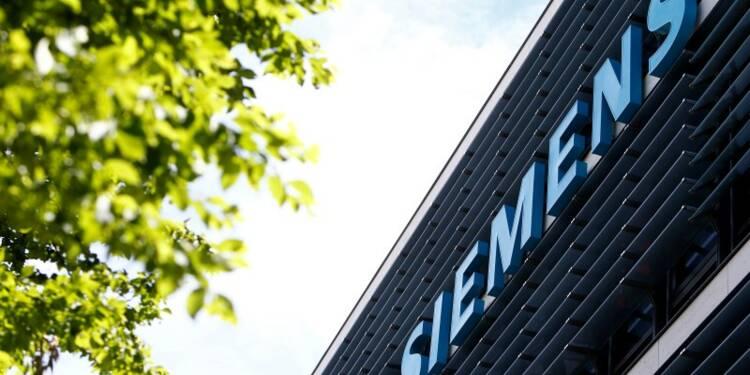 Siemens relève ses prévisions annuelles, le titre s'envole