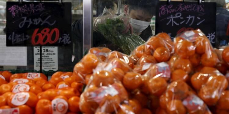 L'inflation japonaise au point mort en février