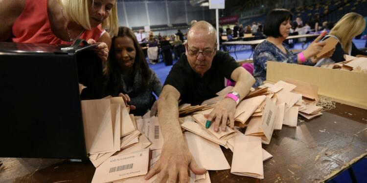 Le Parti travailliste perd du terrain en Grande-Bretagne