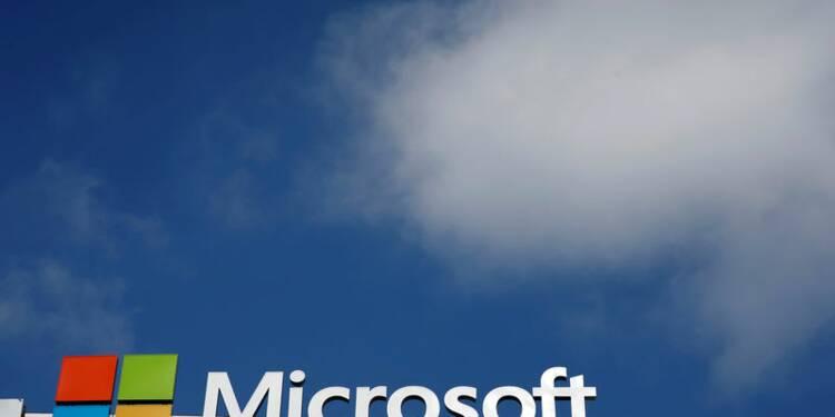 Le CA de Microsoft ajusté en hausse de 2,1% au 4e trimestre