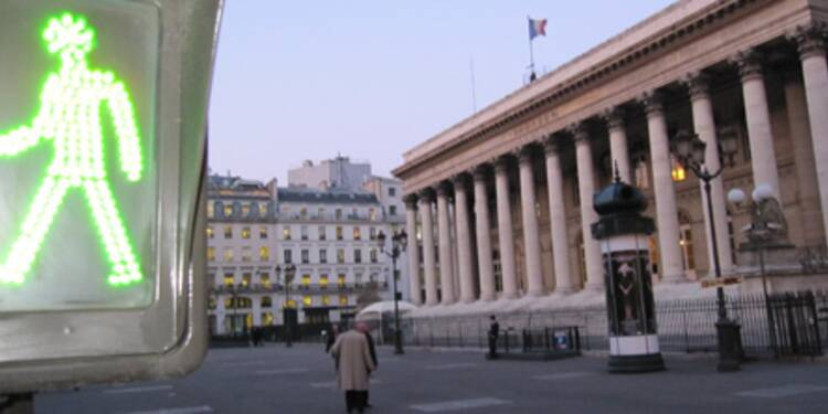 La Bourse de Paris redresse la barre