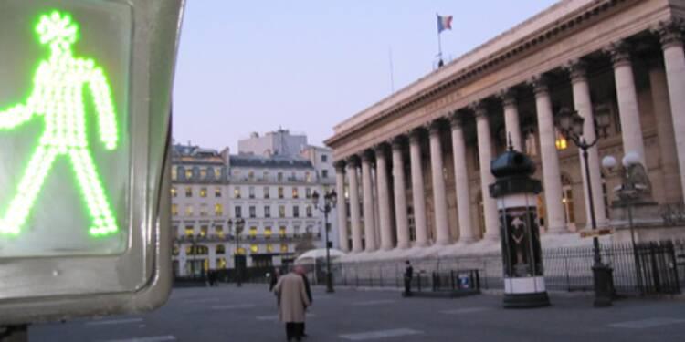 Le CAC 40 termine en nette hausse, Société générale a gagné 7%