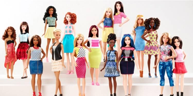 En pleine déconfiture, Barbie prend du poids pour faire grossir ses ventes