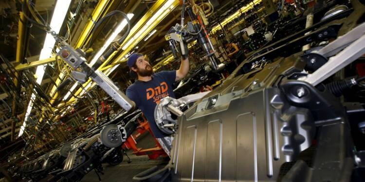 Ralentissement de l'activité manufacturière aux USA en avril