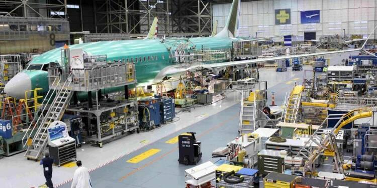 Boeing dévoile des prévisions inférieures au consensus
