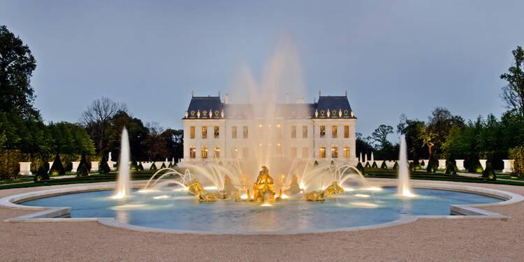 Visite du château privé le plus cher au monde, à Louveciennes