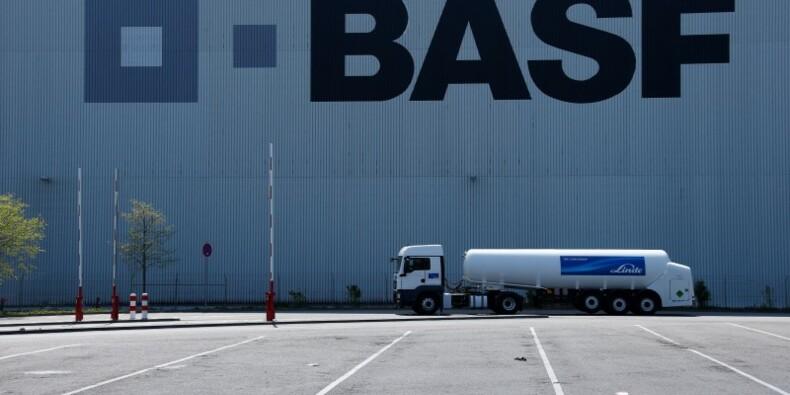 Baisse de 8% du bénéfice d'exploitation de BASF