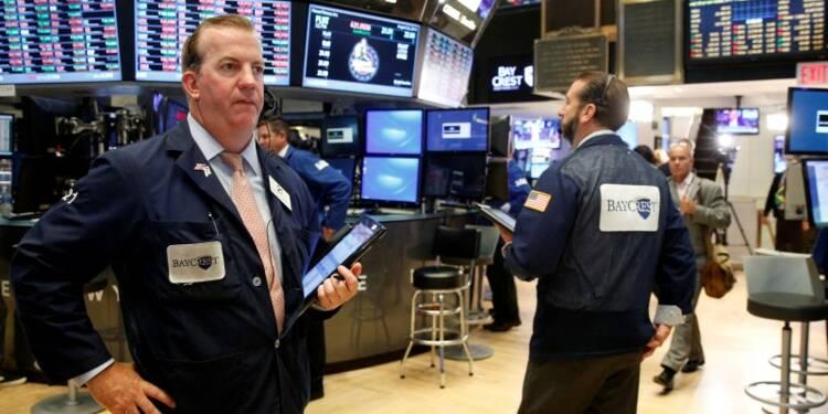 Les indices de Wall Street finissent en ordre dispersé