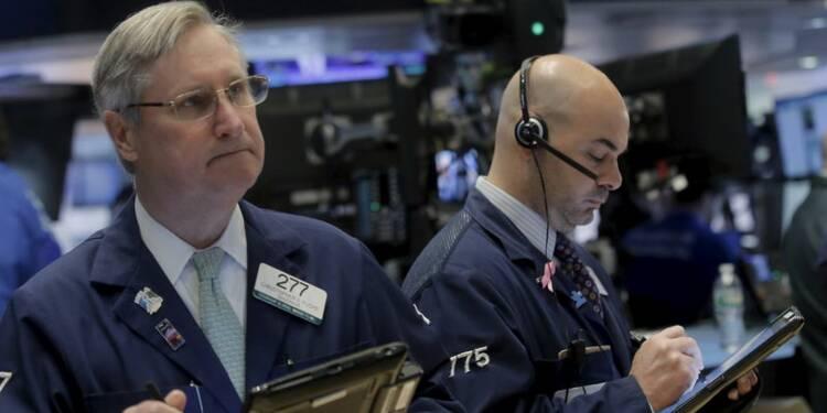Wall Street marque une pause au terme d'un 1er trimestre agité