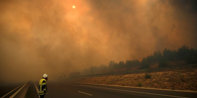 Les feux dans les Bouches-du-Rhône maîtrisés