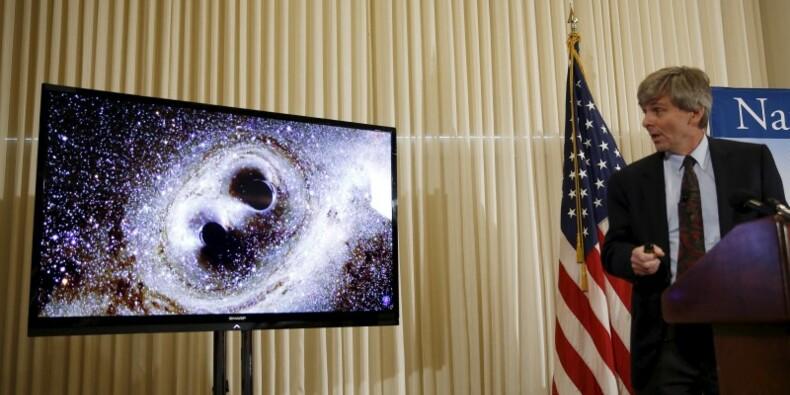 Les ondes gravitationnelles d'Einstein détectées un siècle après