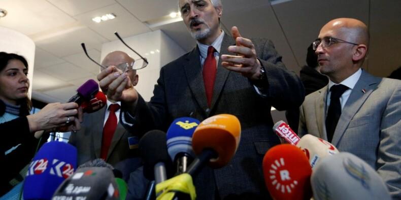 L'opposition exige des gestes de Damas pour rester à Genève