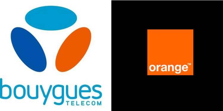 Les valeurs télécoms ont décroché après l'échec du mariage entre Bouygues Tel et Orange