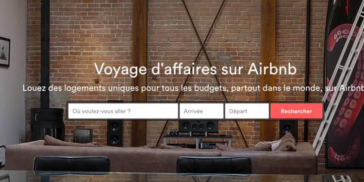 Après le tourisme, Airbnb veut révolutionner les voyages professionnels