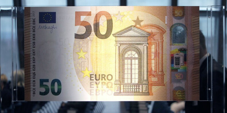 La BCE va remplacer le billet de 50 euros face aux faussaires