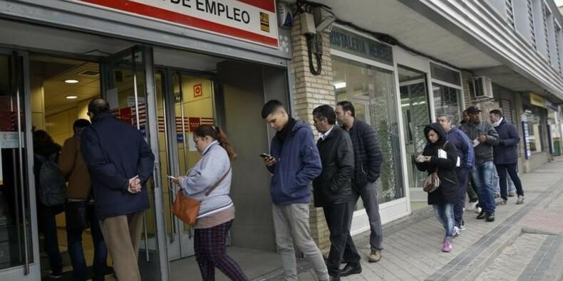 Le chômage en Espagne au plus bas depuis plus de quatre ans