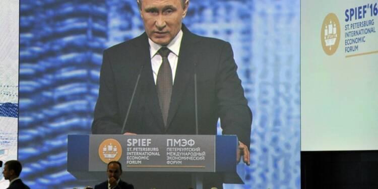 Poutine vise des taux de croissance d'au moins 4% pour la Russie