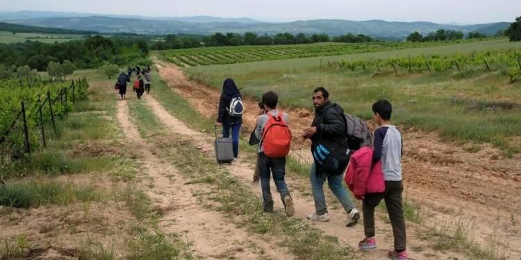 Forte baisse des arrivées de migrants en Grèce au mois d'avril