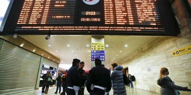 Reprise du trafic à la gare de Rome Termini