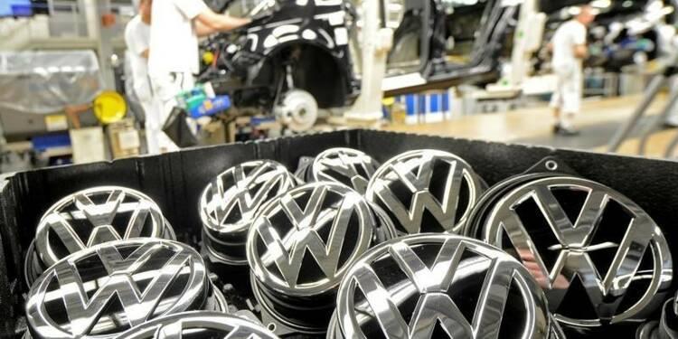 Baisse du bénéfice semestriel de Volkswagen