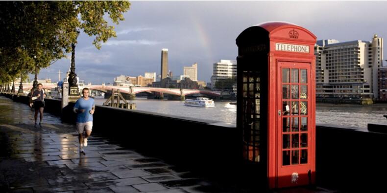 Le centre de Londres déserté pendant les JO