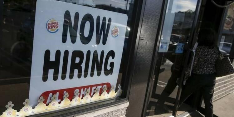 Les créations d'emploi aux Etats-Unis plus faibles que prévu