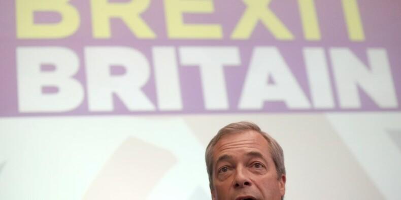 Nigel Farage démissionne de la présidence de l'UKIP