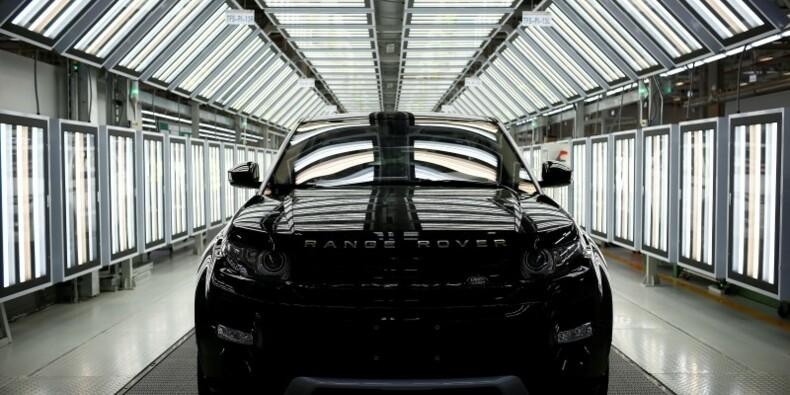 Hausse de 13% des ventes annuelles de Jaguar Land Rover