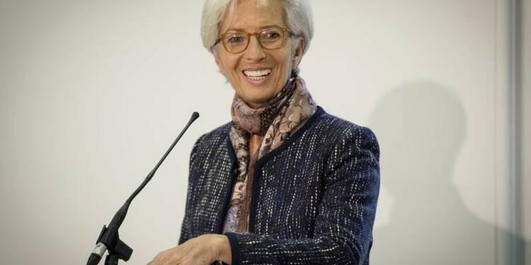 Christine Lagarde reconduite pour cinq ans à la tête du FMI