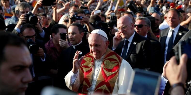 A Erevan, le pape appelle Arménie et Turquie à la réconciliation