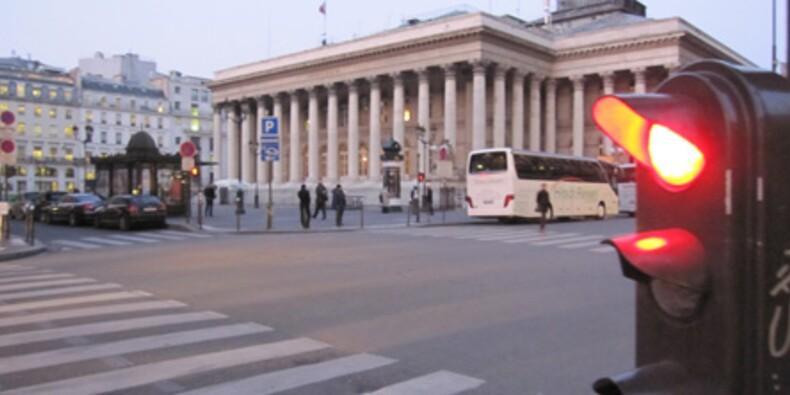 Petite journée dans le rouge pour la Bourse de Paris